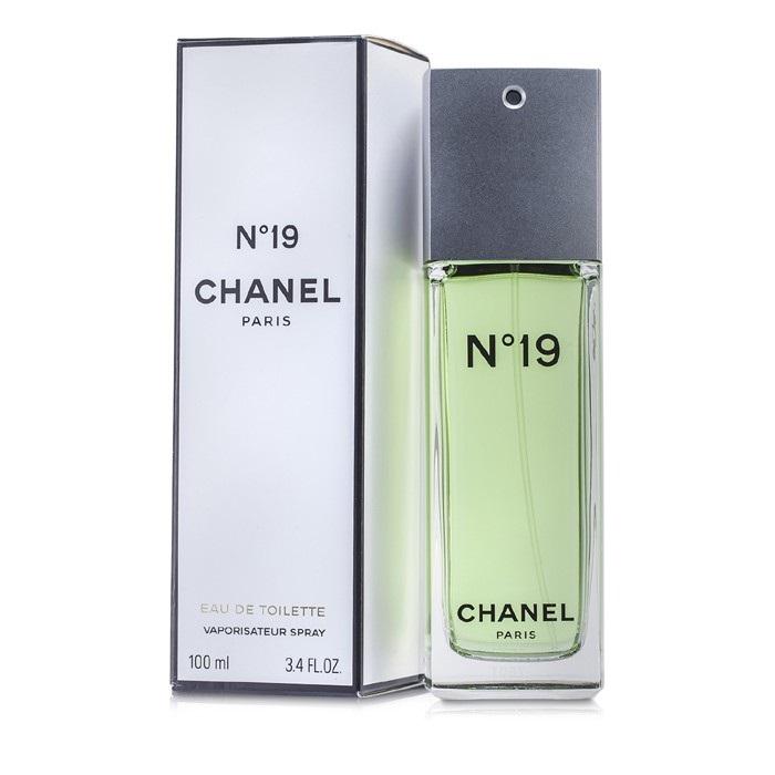 Chanel No.19 EDT Spray Non-Refillable 100ml Women's Perfume