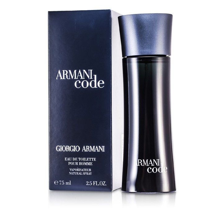giorgio armani armani code edt spray 75ml mens perfume