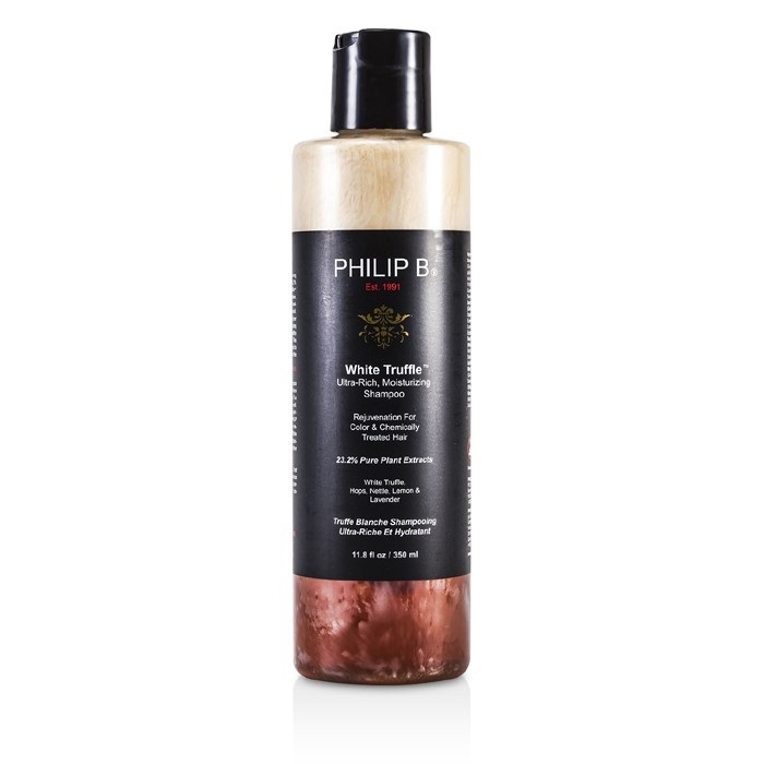 Philip B White Truffle Ultra-Rich Moisturizing Shampoo (For Color & Chemically