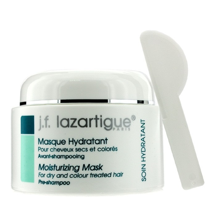 J. F. Lazartigue Moisturizing Mask - For Dry & Colour Treated Hair (Pre Shampoo,