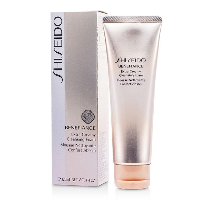 Shiseido Benefiance Extra Creamy Cleansing Foam 125ml Womens Skin Care