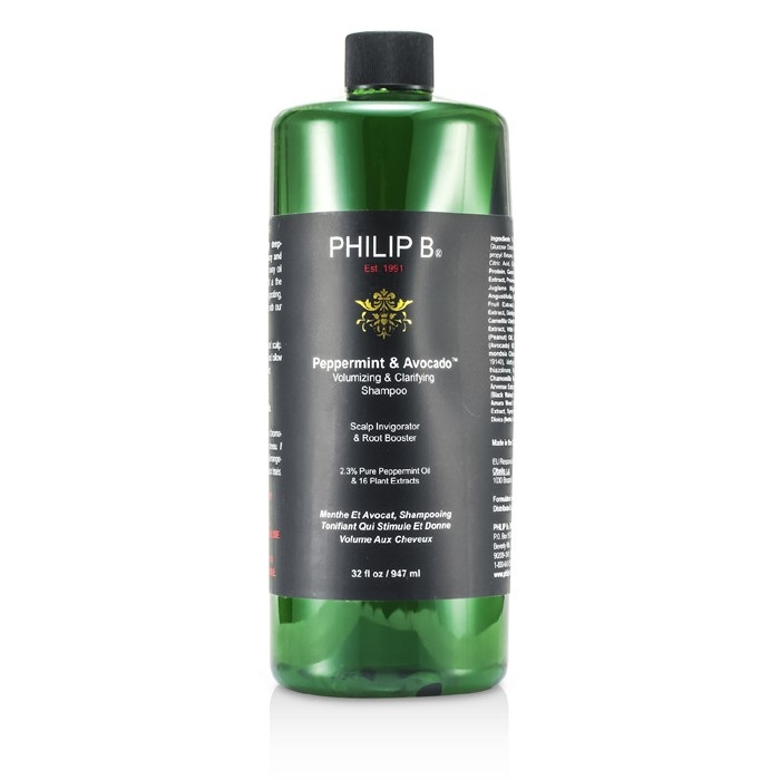 Philip B Peppermint & Avocado Volumizing & Clarifying Shampoo 947ml Mens Hair