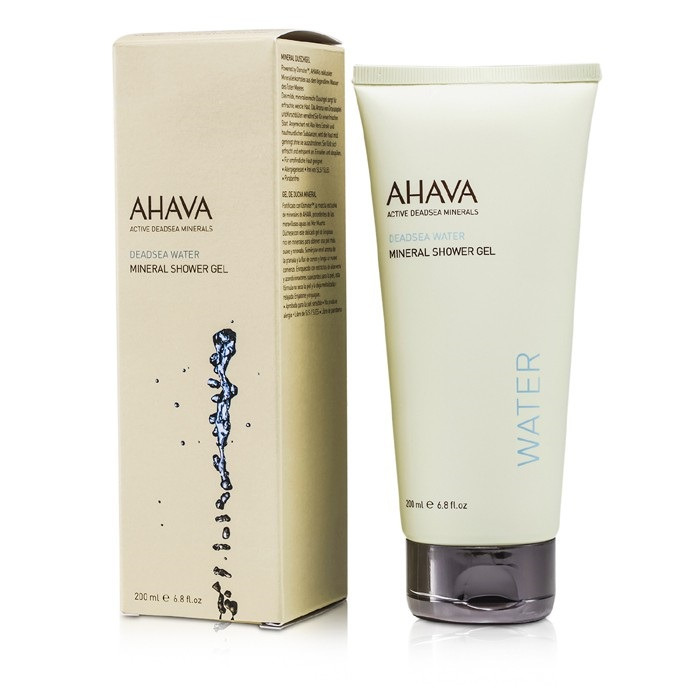 Ahava Deadsea Water Mineral Shower Gel 200ml Womens Skin Care