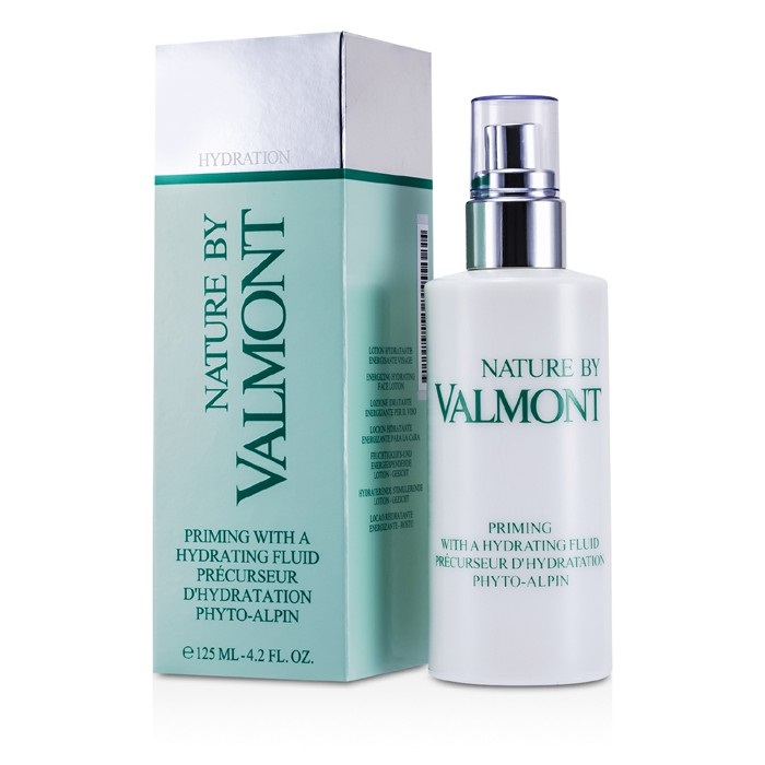 Hydration Skin Care: Valmont Nature Priming With A Hydrating Fluid 125ml Womens