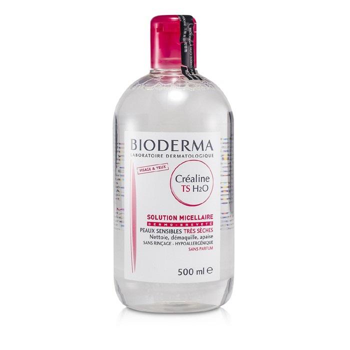 Bioderma Sensibio (Crealine) TS H2O Micelle Solution (For Very Dry Skin) 500ml