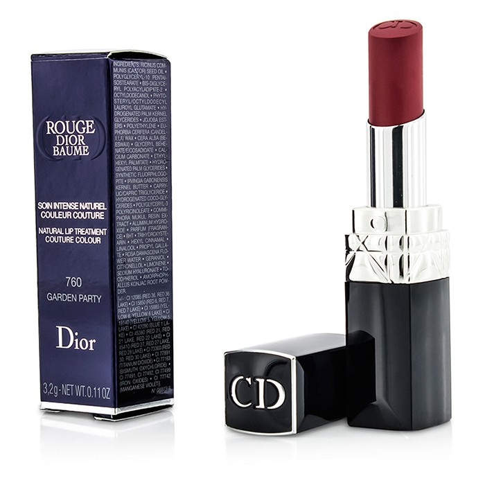 Christian Dior Rouge Dior Baume Natural Lip Treatment Couture Colour - # 3.2g