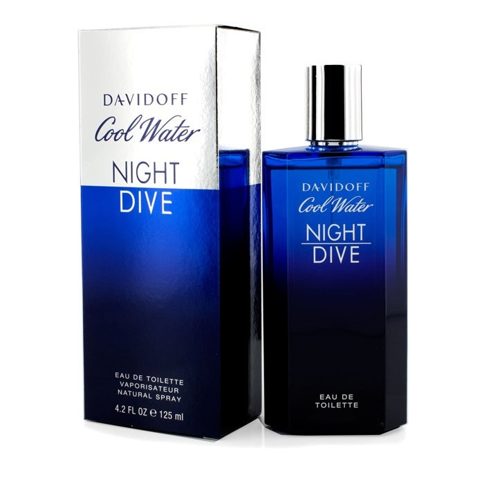 Davidoff cool water night dive edt spray 125ml men 39 s - Davidoff night dive ...