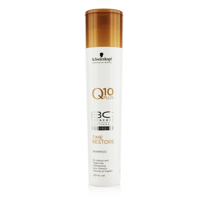 Schwarzkopf BC Time Restore Q10 Plus Shampoo - For Mature and Fragile Hair 250ml