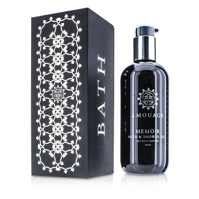 Amouage Memoir Bath & Shower Gel 300ml Men's Perfume