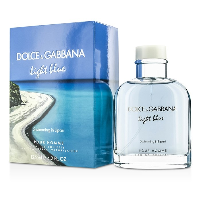 Dolce & Gabbana Light Blue Swimming In Lipari EDT Spray (Limited Edition) 125ml