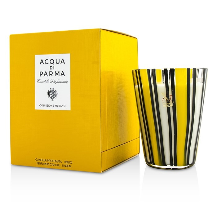 Acqua Di Parma Murano Glass Perfumed Candle - Tiglio (Linen) 200g Home Scent