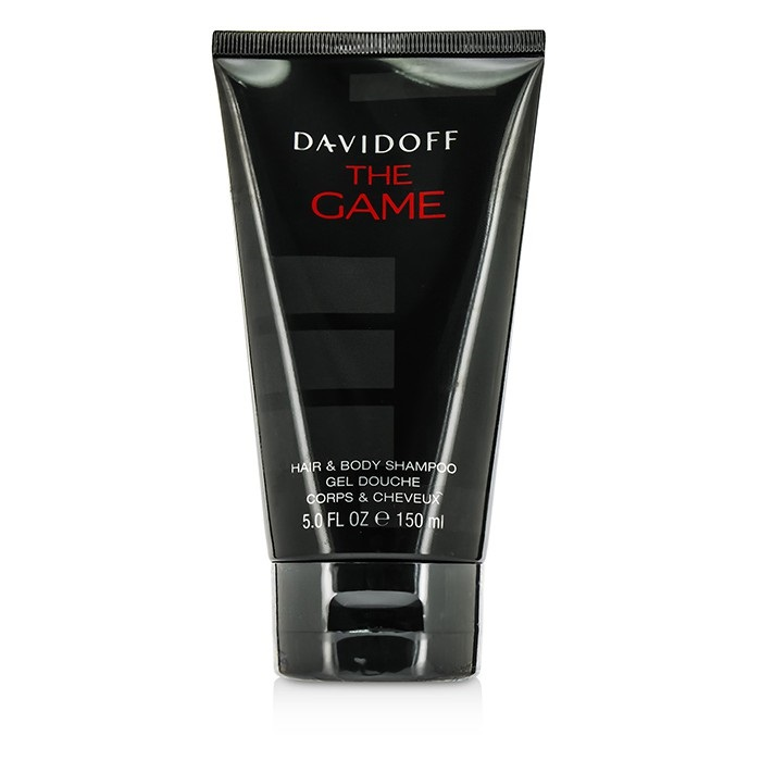 Davidoff The Game Hair & Body Shampoo 150ml Men's Perfume