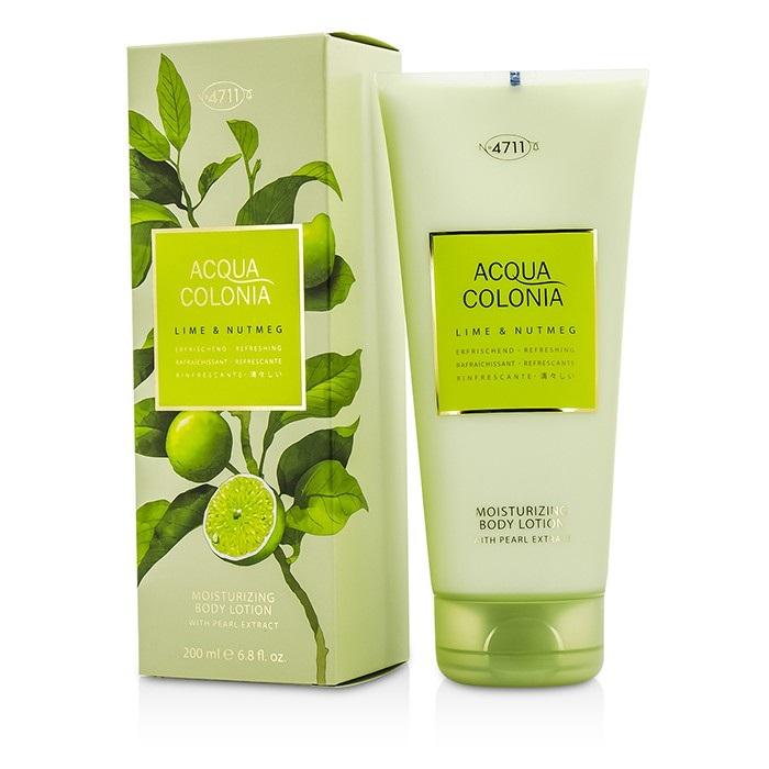 4711 Acqua Colonia Lime & Nutmeg Moisturizing Body Lotion 200ml Men's Perfume