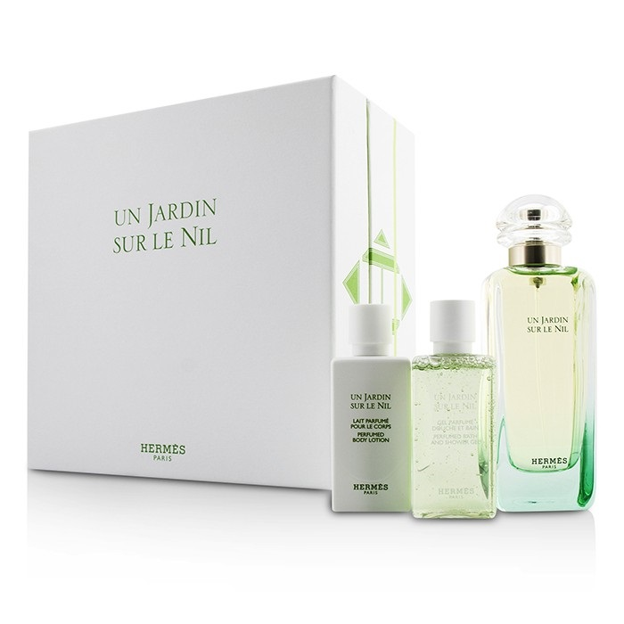 hermes un jardin sur le nil coffret edt spray 100ml. Black Bedroom Furniture Sets. Home Design Ideas