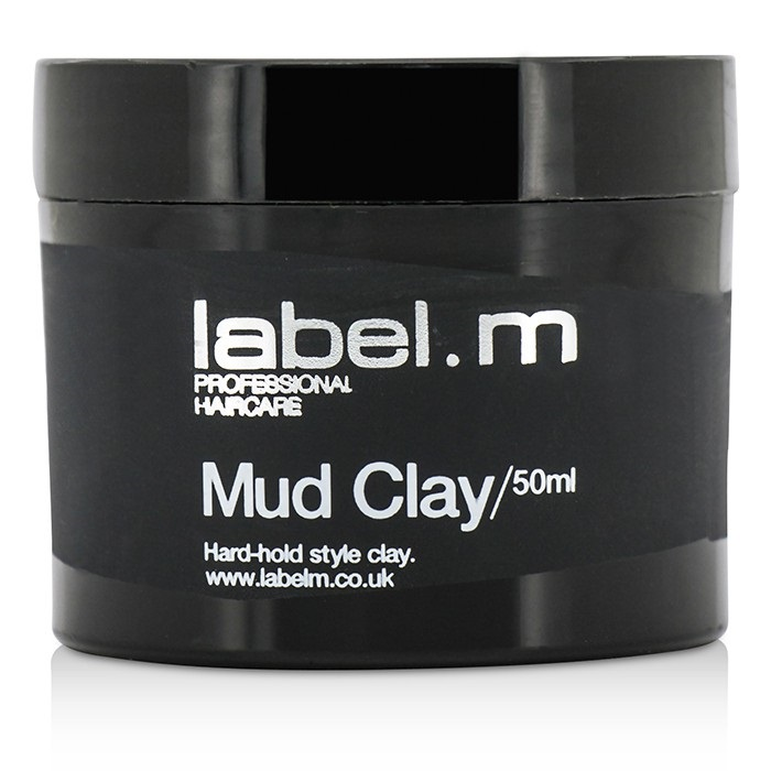 Label.M Mud Clay (Hard-Hold Style Clay) 50ml Mens Hair Care