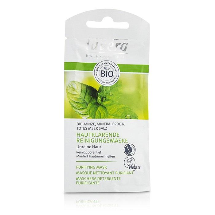 Lavera Purifying Mask - Organic Mint 10ml Womens Skin Care