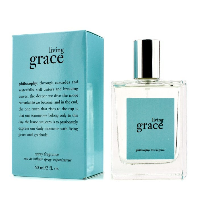 living grace spray fragrance was formulated to help center a woman's mood, enabling her to fully embrace the beauty of living in the present moment each day. Living Grace by Philosophy is a Floral fragrance for women.